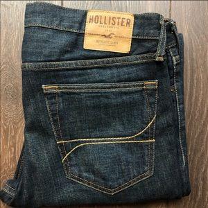 Holister blue jeans